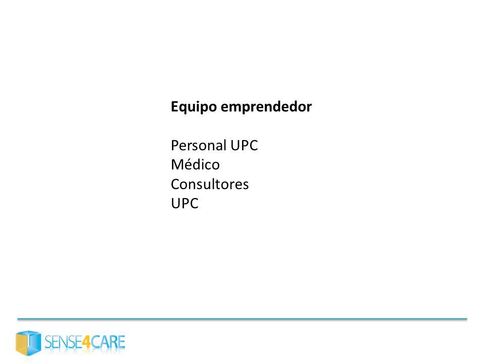 Equipo emprendedor Personal UPC Médico Consultores UPC