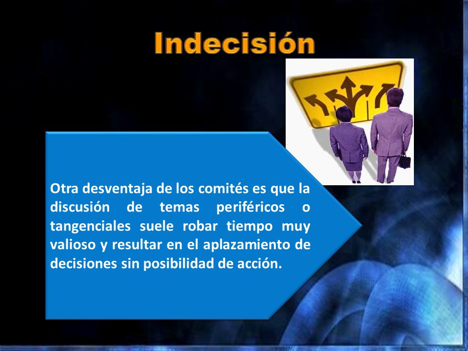 Indecisión