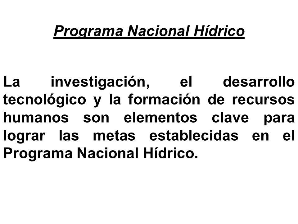 Programa Nacional Hídrico