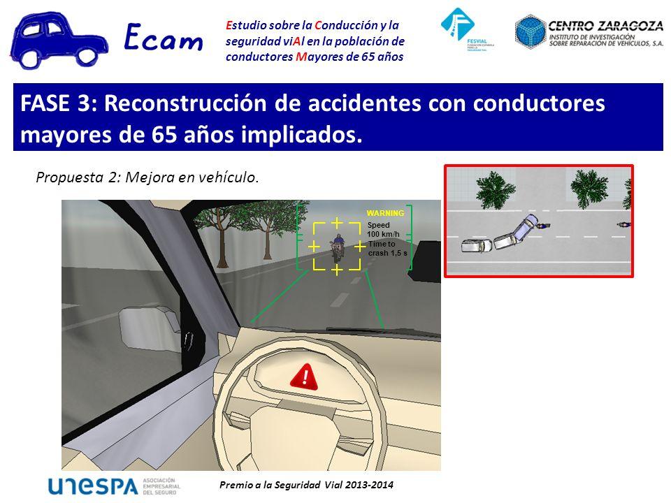 FASE 3: Reconstrucción de accidentes con conductores mayores de 65 años implicados.