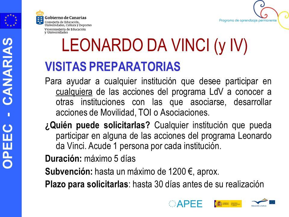 LEONARDO DA VINCI (y IV)