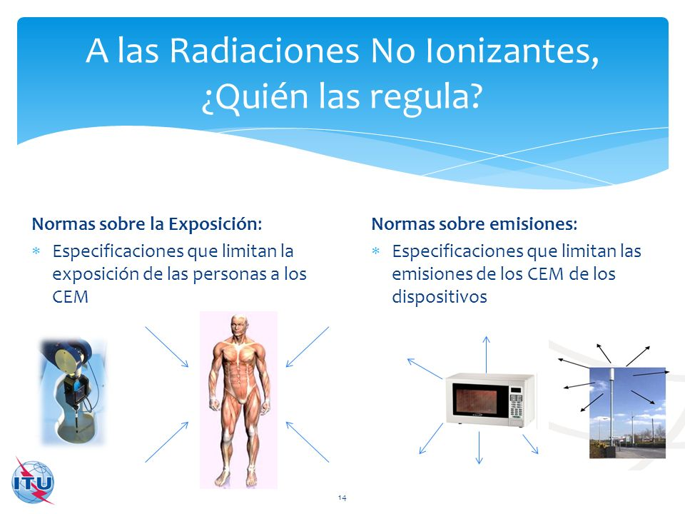 A las Radiaciones No Ionizantes, ¿Quién las regula