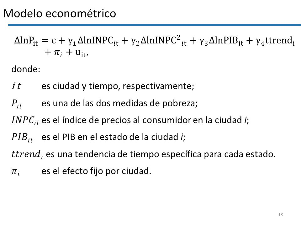 Modelo econométrico
