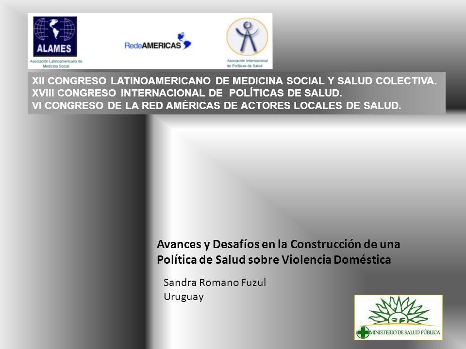 XII CONGRESO LATINOAMERICANO DE MEDICINA SOCIAL Y SALUD COLECTIVA.