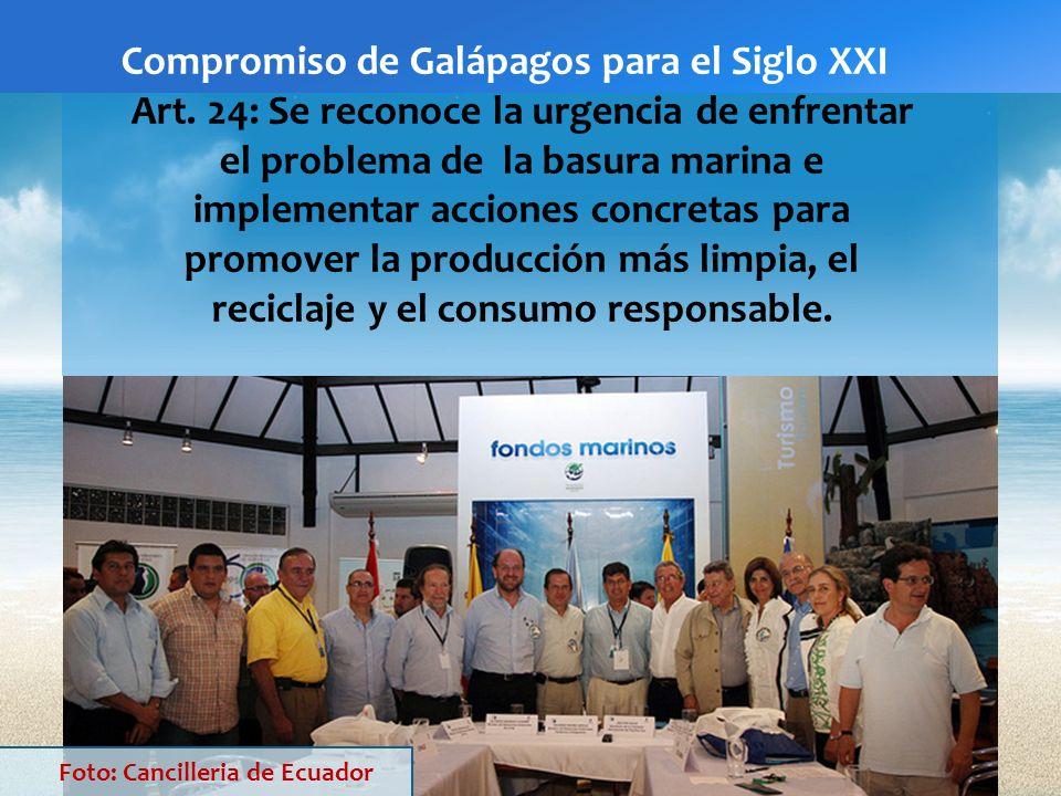 Compromiso de Galápagos para el Siglo XXI