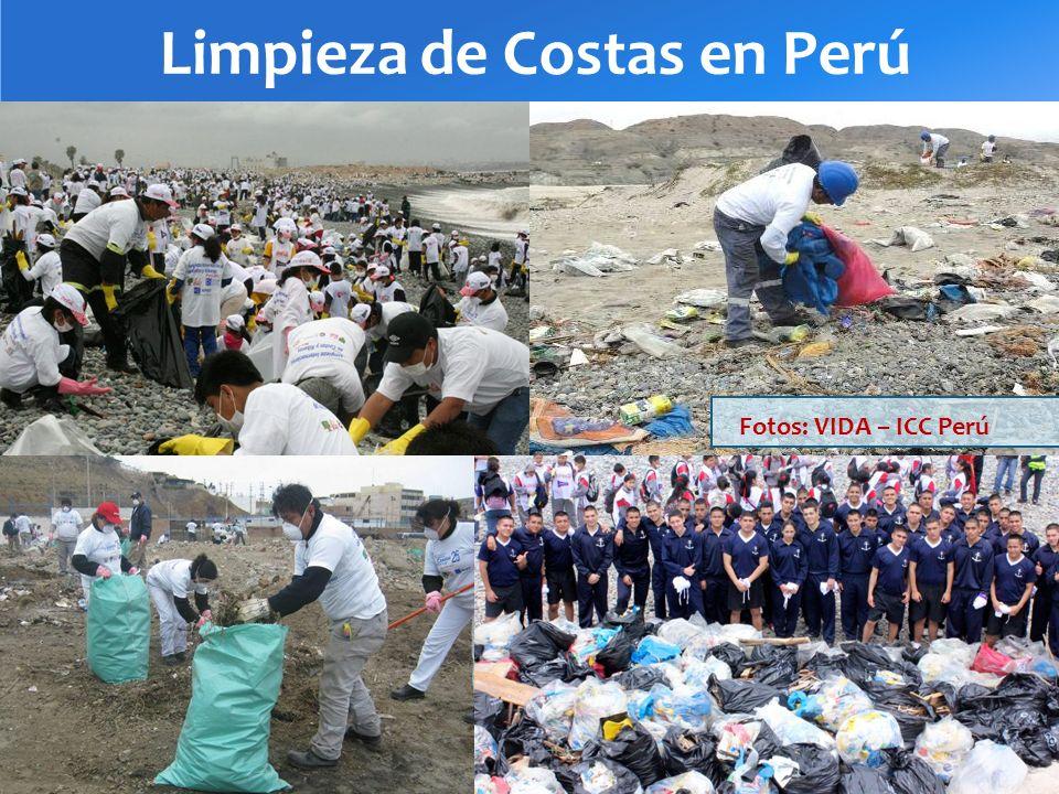 Limpieza de Costas en Perú