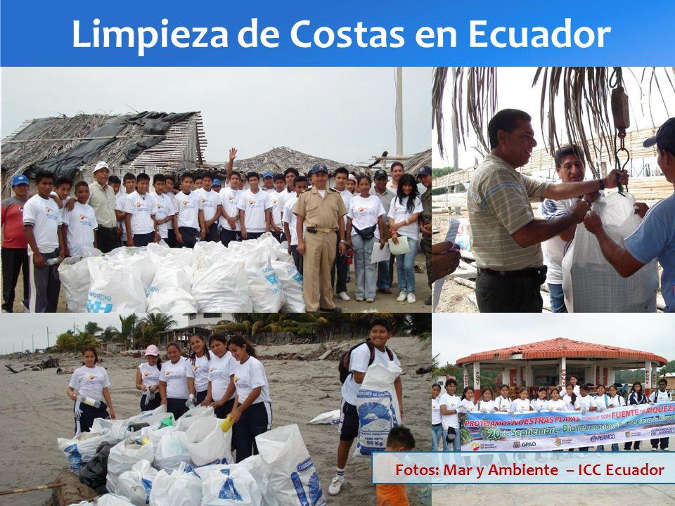 Limpieza de Costas en Ecuador