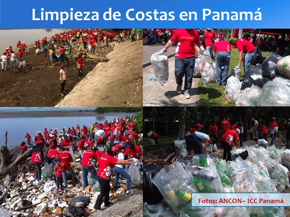 Limpieza de Costas en Panamá