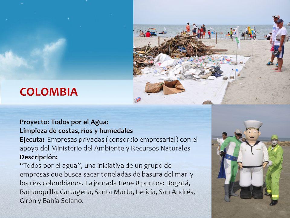 COLOMBIA Proyecto: Todos por el Agua: