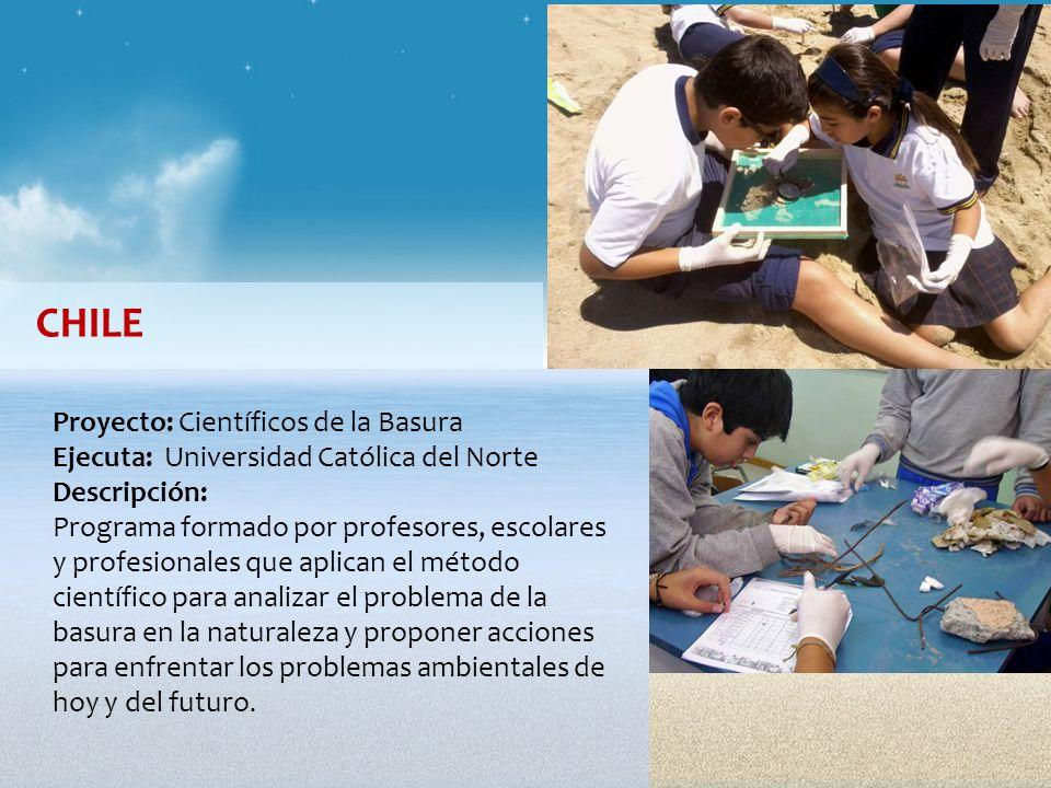 CHILE Proyecto: Científicos de la Basura