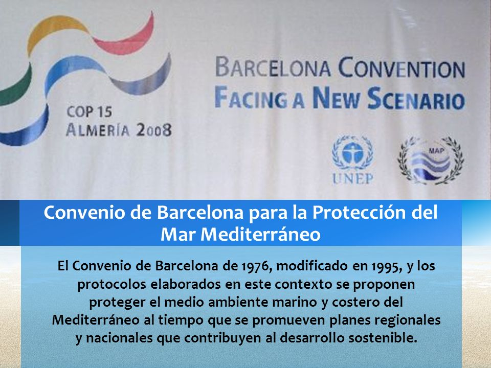 Convenio de Barcelona para la Protección del Mar Mediterráneo