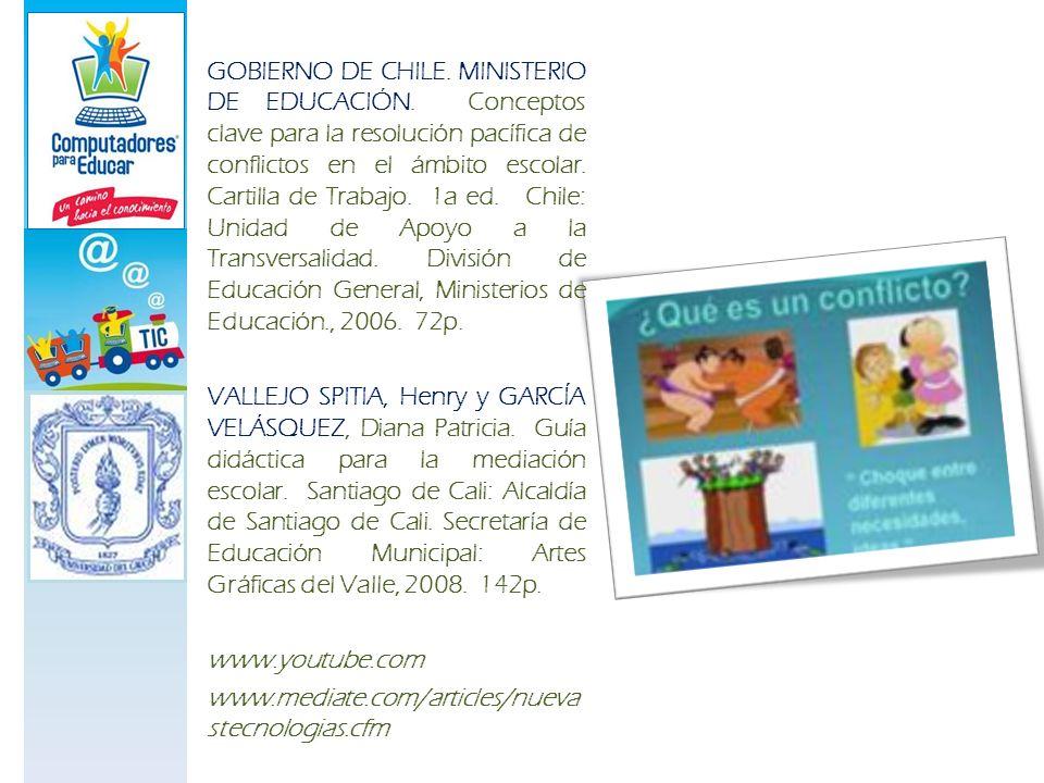 GOBIERNO DE CHILE. MINISTERIO DE EDUCACIÓN