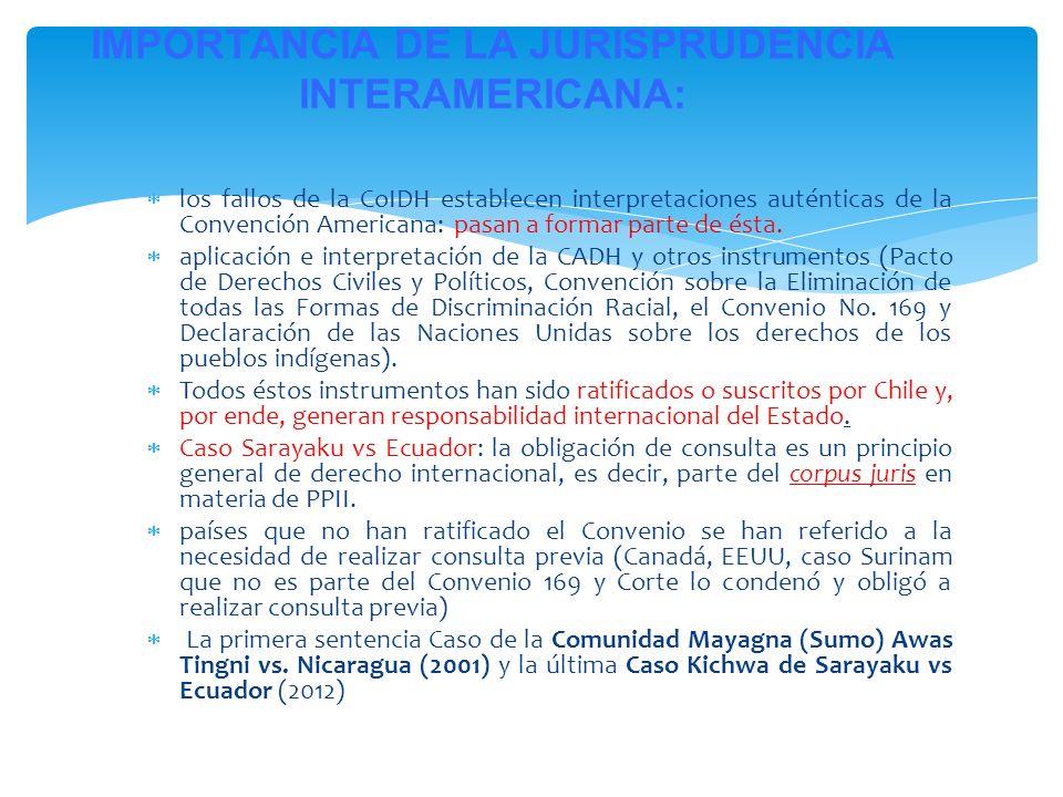 IMPORTANCIA DE LA JURISPRUDENCIA INTERAMERICANA: