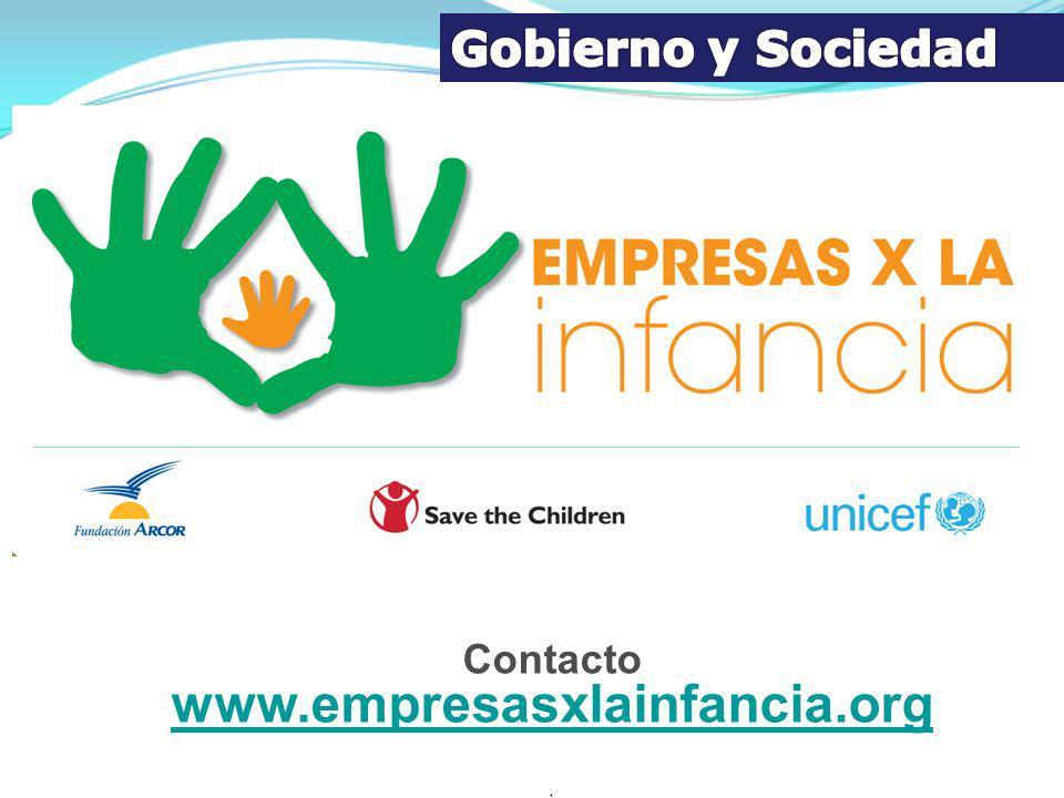 Contacto www.empresasxlainfancia.org