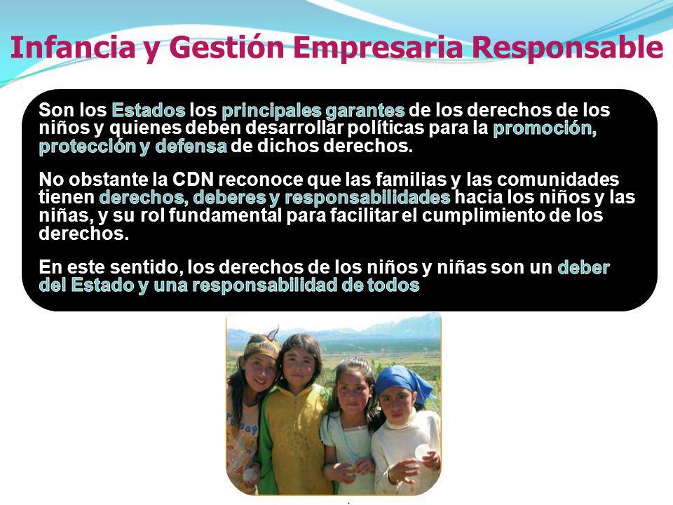 Infancia y Gestión Empresaria Responsable