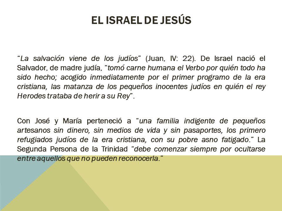 El Israel de Jesús