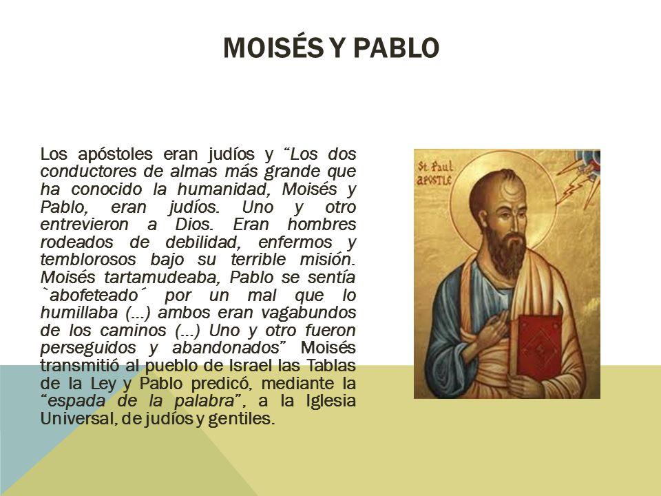 Moisés y Pablo
