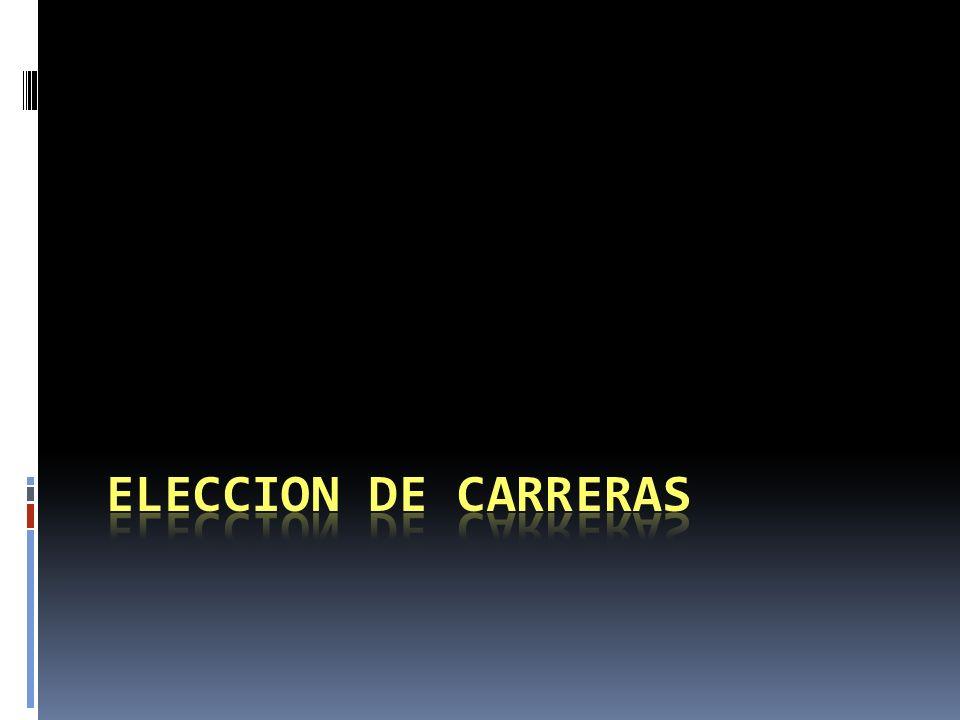 ELECCION DE CARRERAS