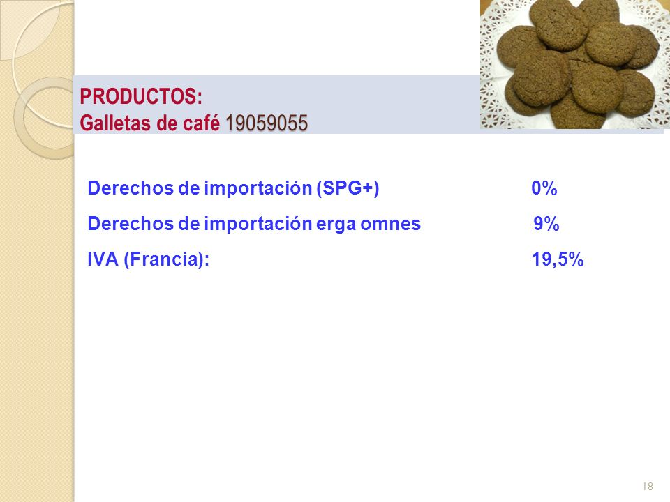 PRODUCTOS: Galletas de café 19059055