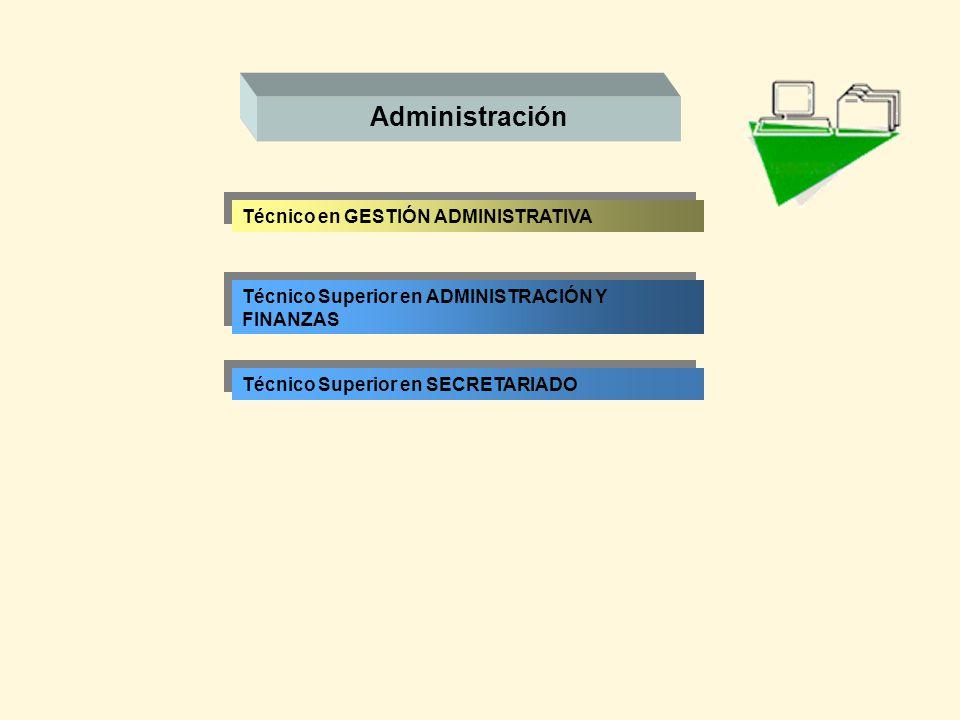 Administración Técnico en GESTIÓN ADMINISTRATIVA