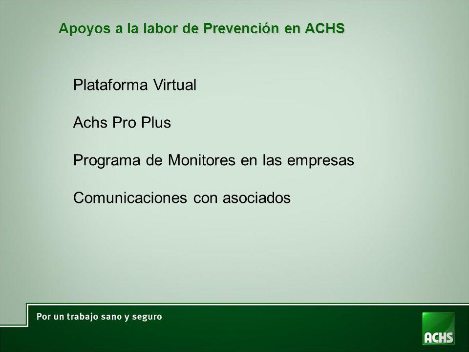 Programa de Monitores en las empresas Comunicaciones con asociados