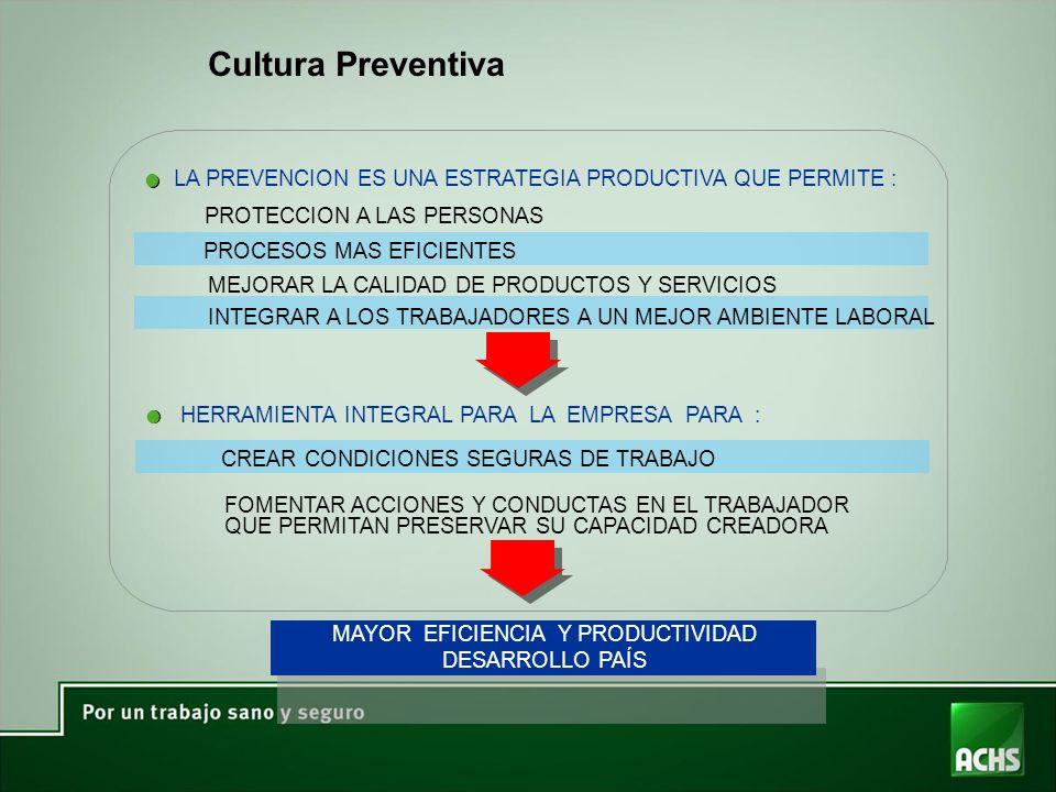 MAYOR EFICIENCIA Y PRODUCTIVIDAD