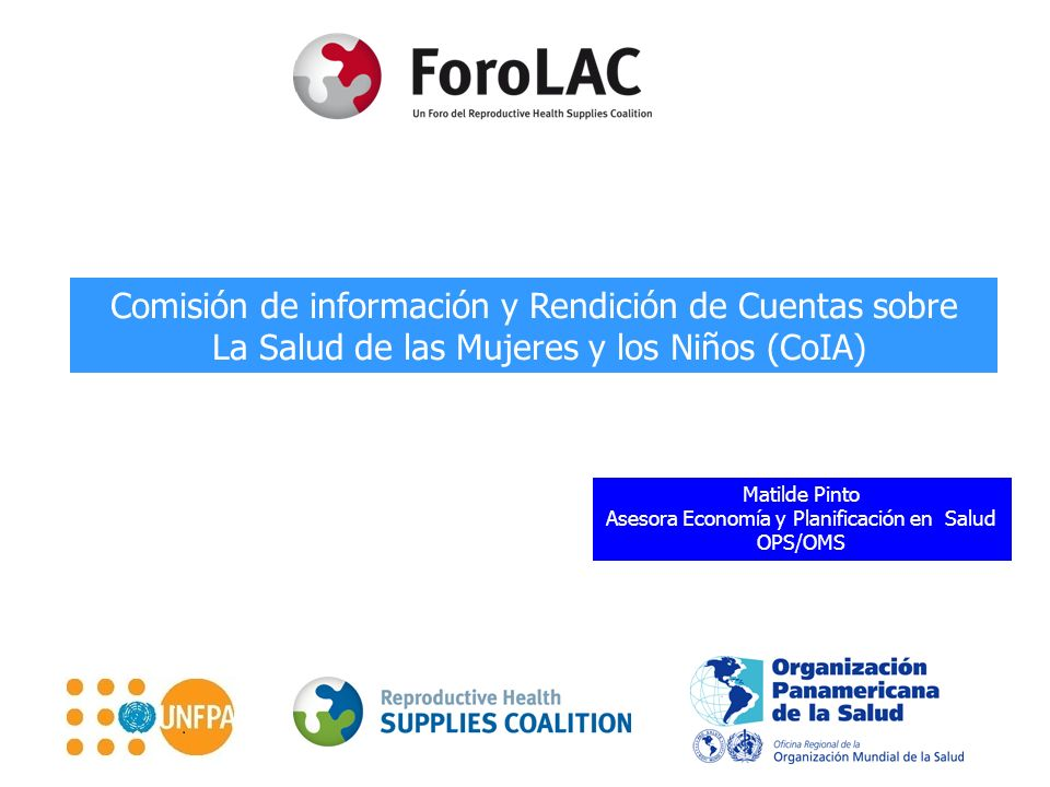 Comisión de información y Rendición de Cuentas sobre