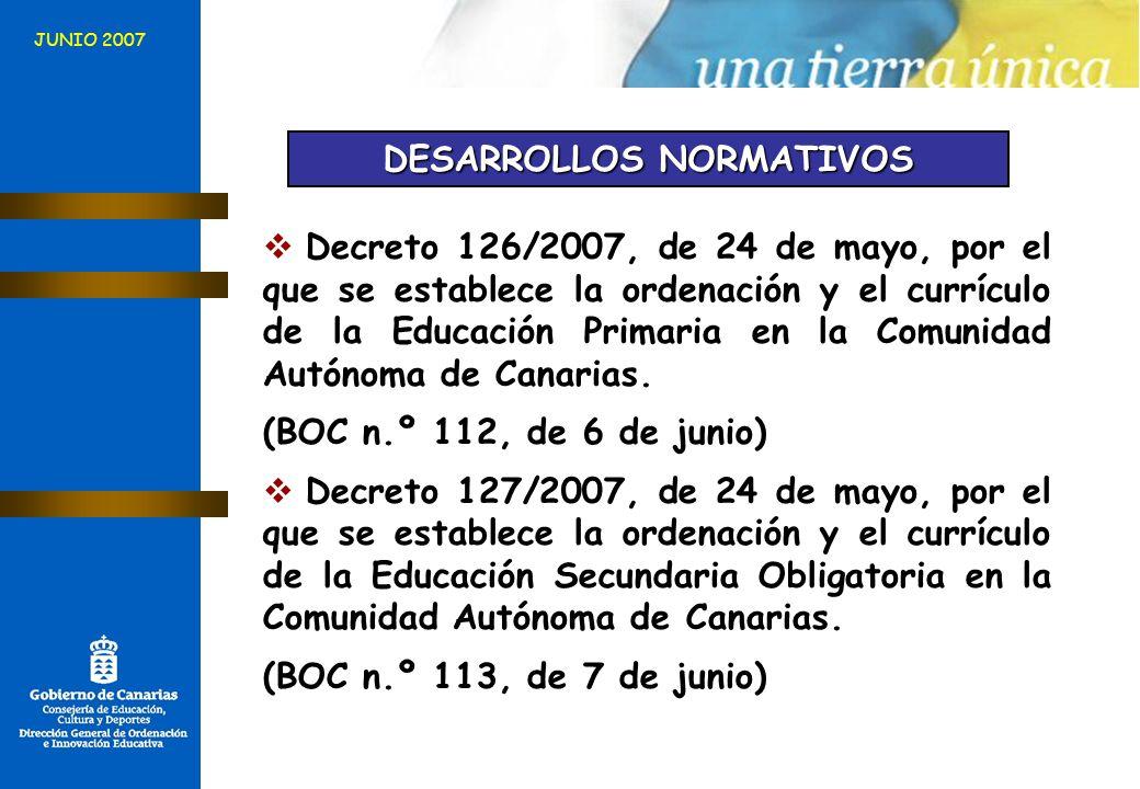 DESARROLLOS NORMATIVOS