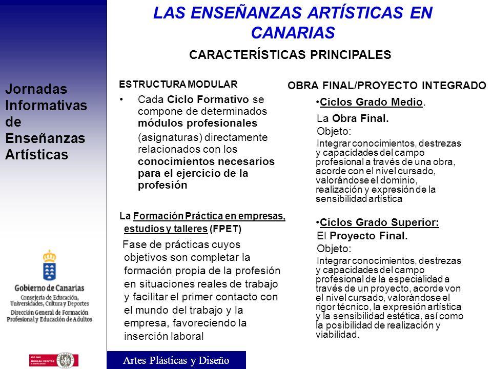 LAS ENSEÑANZAS ARTÍSTICAS EN CANARIAS OBRA FINAL/PROYECTO INTEGRADO