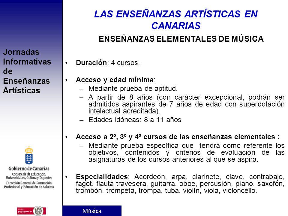 ENSEÑANZAS ELEMENTALES DE MÚSICA