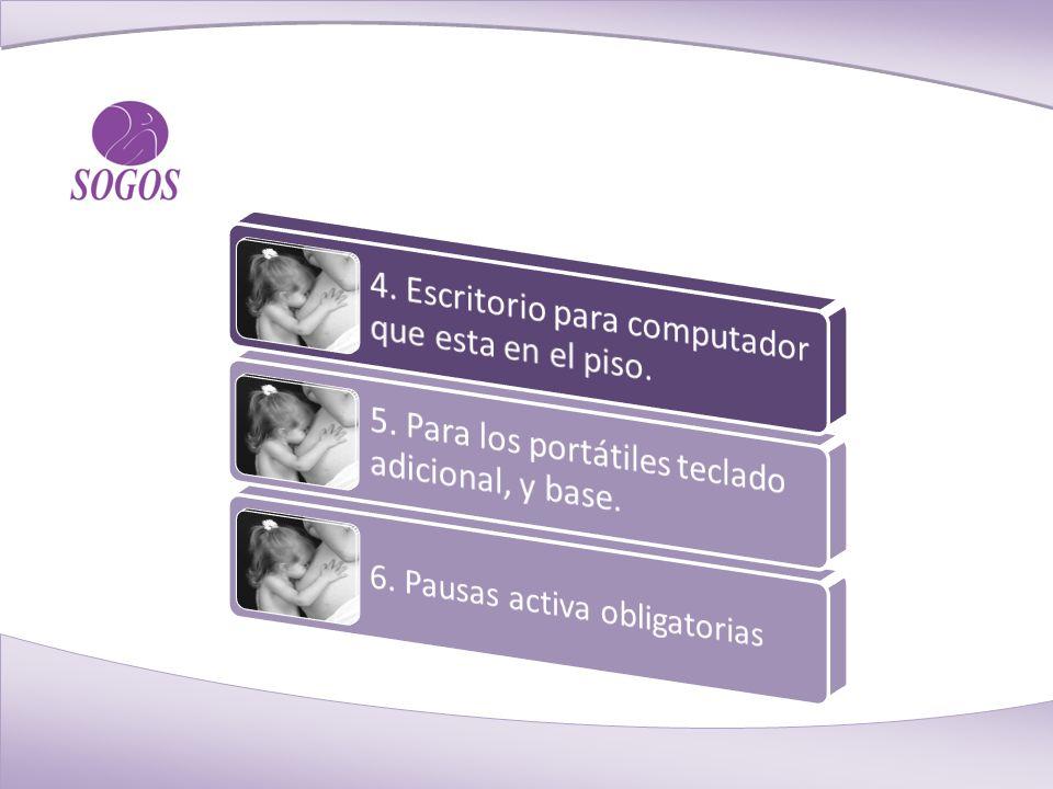 6. Pausas activa obligatorias