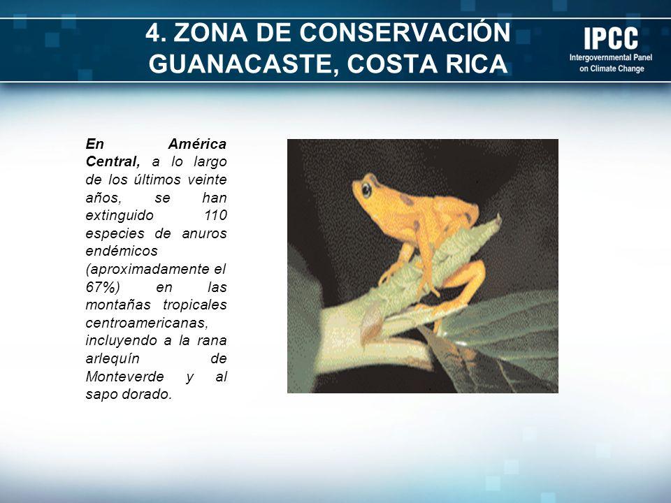 4. ZONA DE CONSERVACIÓN GUANACASTE, COSTA RICA