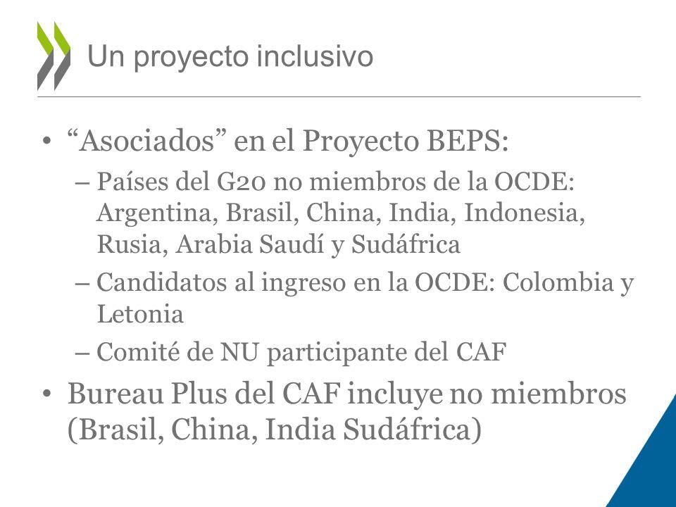 Asociados en el Proyecto BEPS: