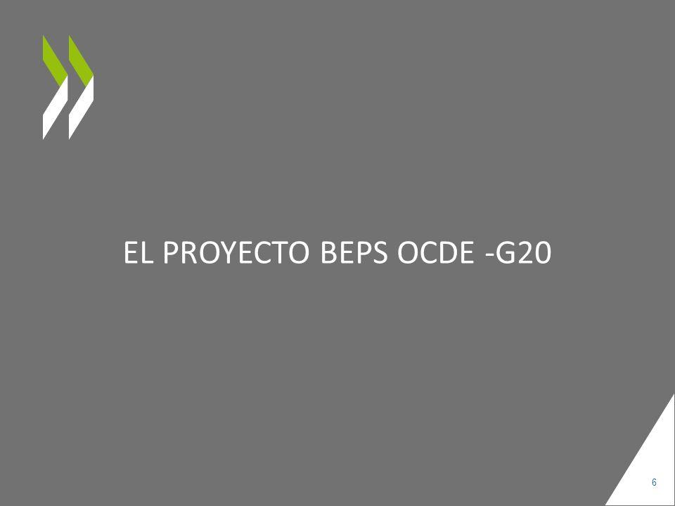 El Proyecto BEPS OCDE -G20