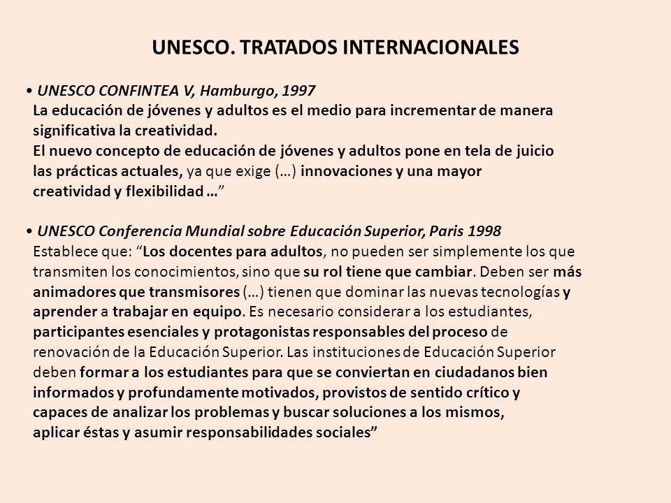 UNESCO. TRATADOS INTERNACIONALES