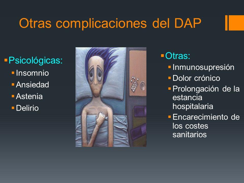 Otras complicaciones del DAP