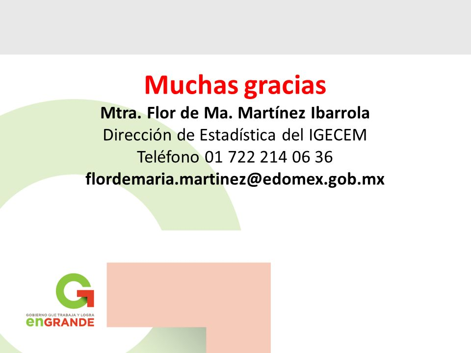 Mtra. Flor de Ma. Martínez Ibarrola