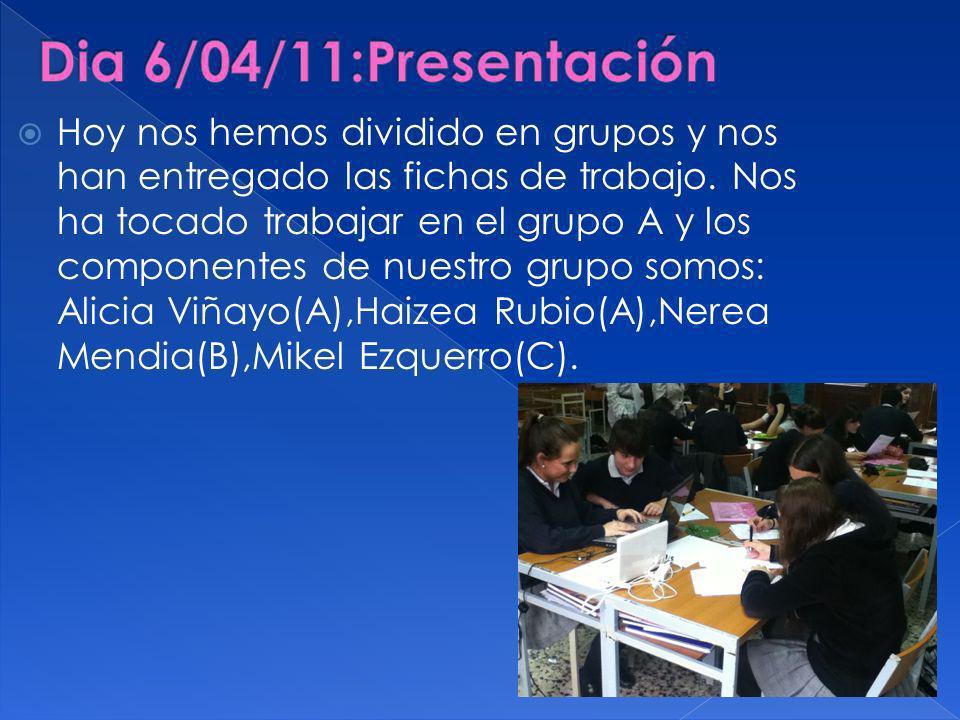 Dia 6/04/11:Presentación