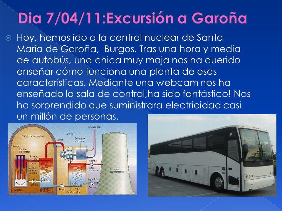 Dia 7/04/11:Excursión a Garoña