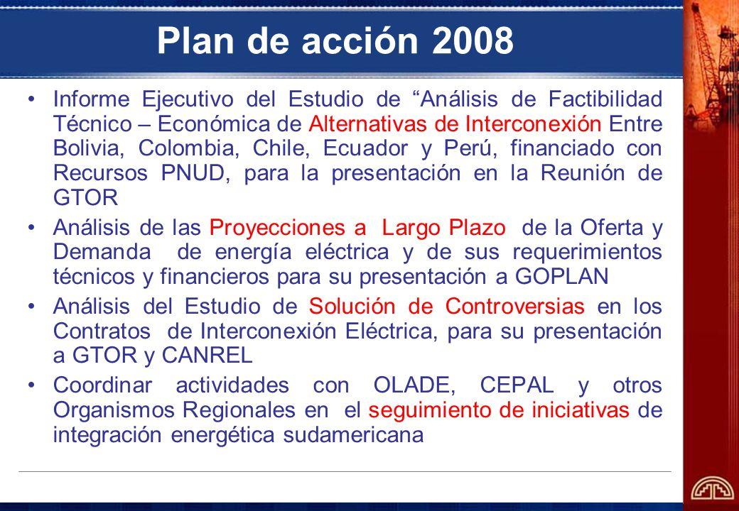 Plan de acción 2008