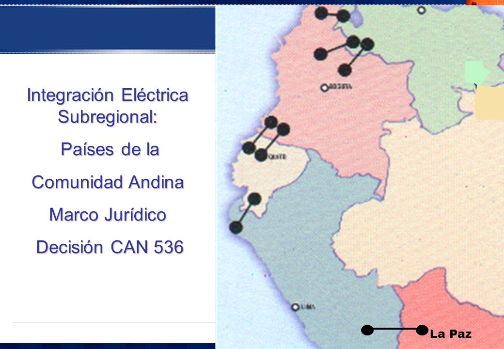 Integración Eléctrica Subregional: