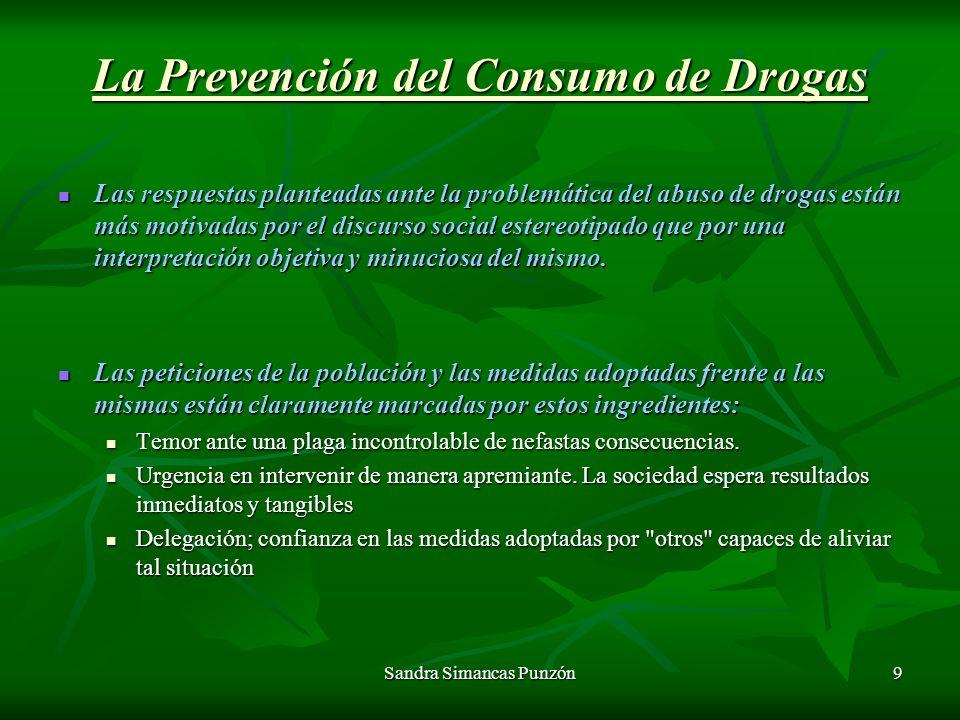 La Prevención del Consumo de Drogas