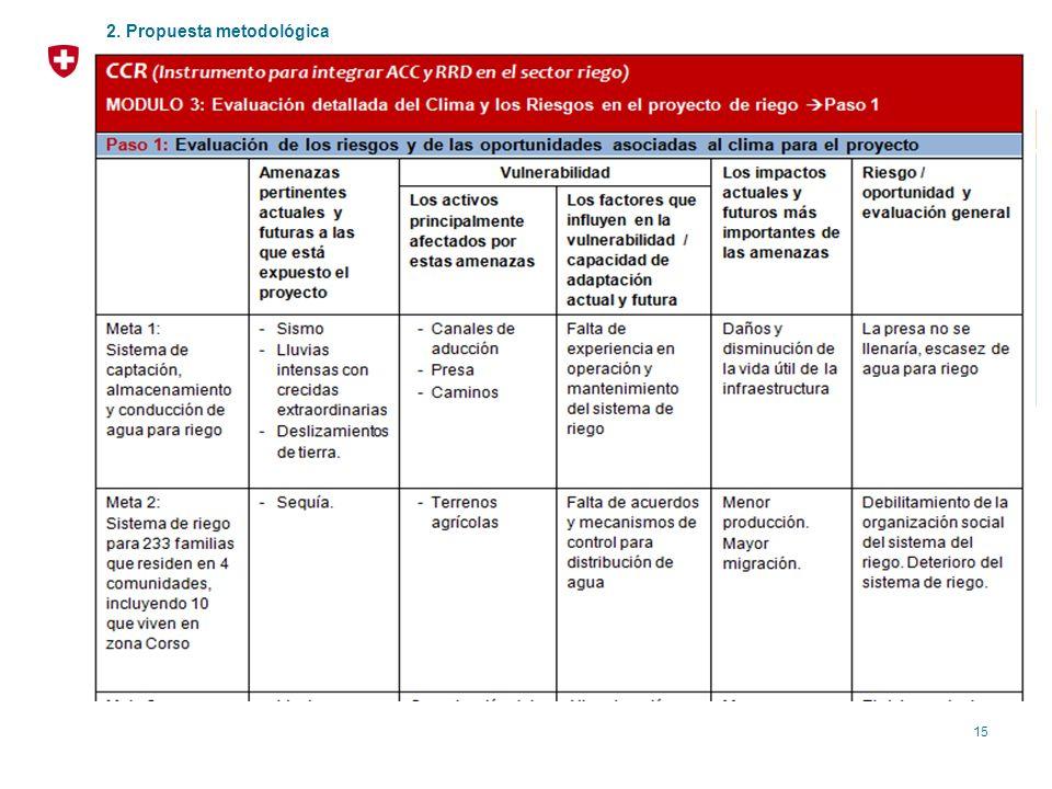 Módulo 3: Evaluación Detallada a Nivel del Proyecto (I)