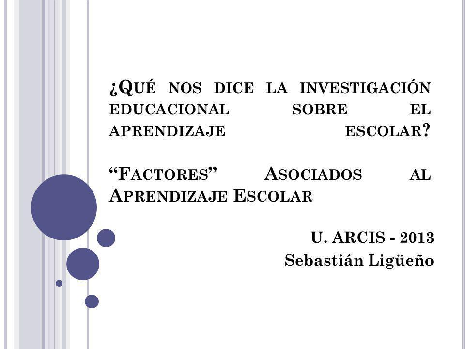 U. ARCIS - 2013 Sebastián Ligüeño