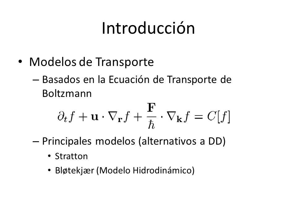 Introducción Modelos de Transporte