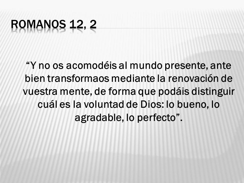 ROMANOS 12, 2