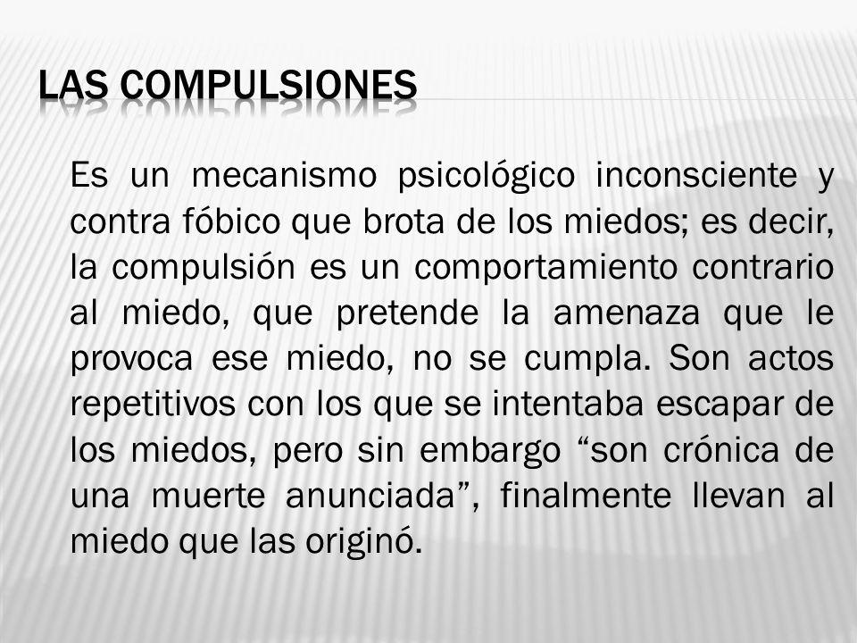 Las compulsiones