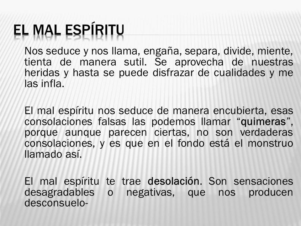 EL MAL ESPÍRITU