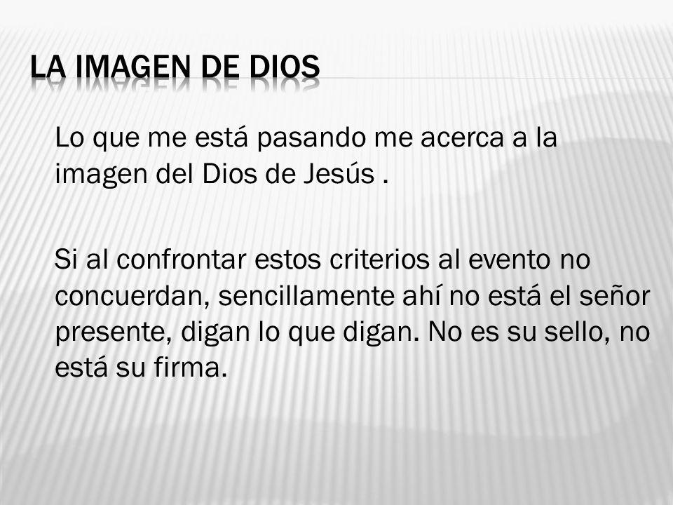 LA IMAGEN DE DIOS