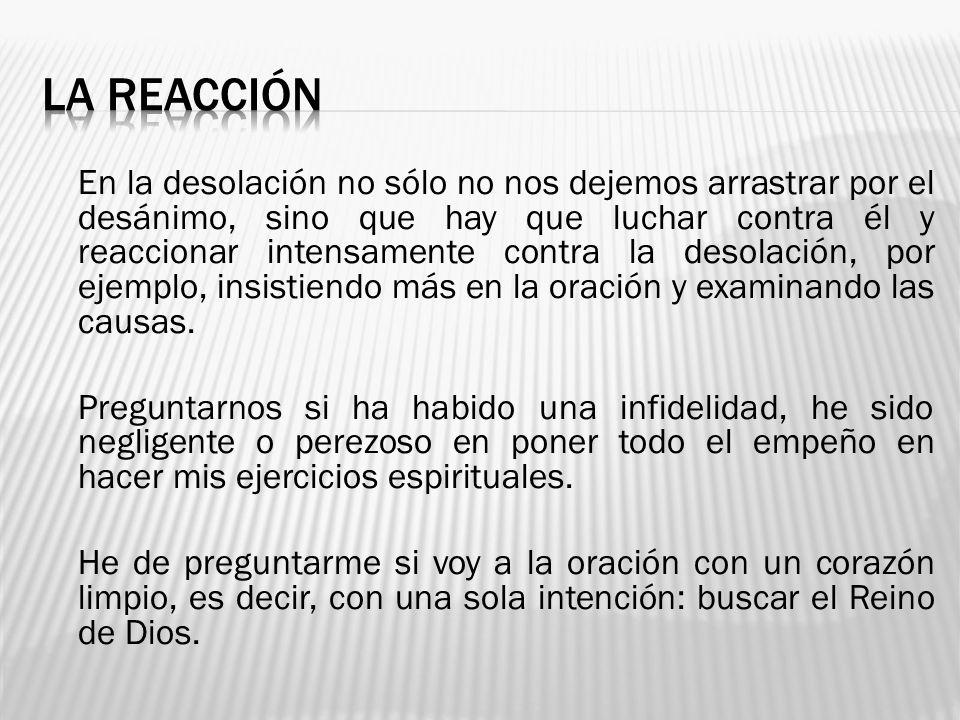 LA REACCIÓN